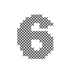 Cross Stitch Font 6 embroidery design