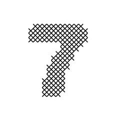 Cross Stitch Font 7 embroidery design