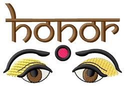 Honor Bindi embroidery design