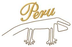 Peru Nazca Lines embroidery design