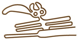 Animal Nazca Lines embroidery design