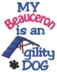 Beauceron Dog embroidery design