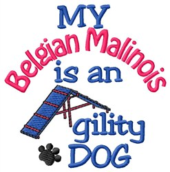 Belgian Malinois embroidery design