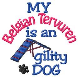 Belgian Tervuren embroidery design