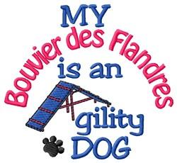 Bouvier des Flandres embroidery design