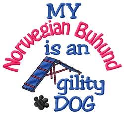 Norwegian Buhund embroidery design
