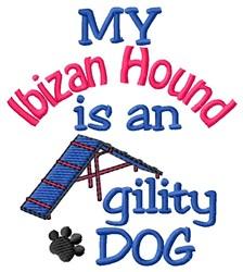 Ibizan Hound embroidery design