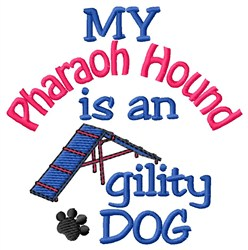Pharaoh Hound embroidery design