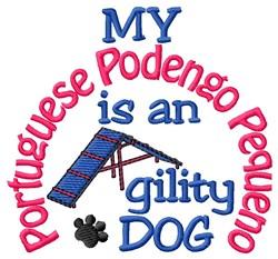 Portuguese Podengo Pequeno embroidery design