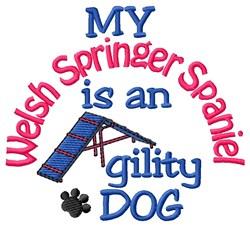 Welsh Springer Spaniel embroidery design