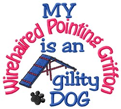 Wirehaired Pointing Griffon embroidery design