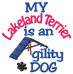 Lakeland Terrier embroidery design
