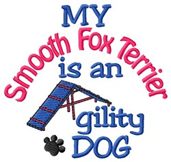 Smooth Fox Terrier embroidery design