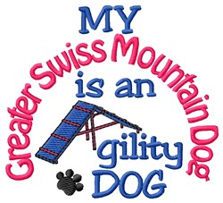 Greater Swiss Mountain Dog embroidery design