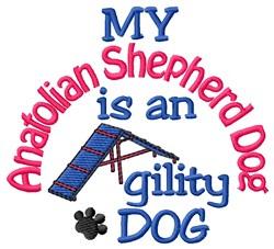 Anatolian Shepherd Dog embroidery design