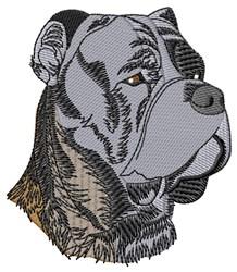 Cane Cross Head embroidery design