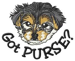 Got Purse embroidery design