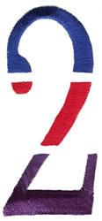 Triple Deck 2 embroidery design