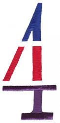 Triple Deck 4 embroidery design