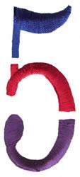 Triple Deck 5 embroidery design
