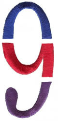 Triple Deck 9 embroidery design