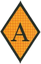 Diamond Applique A embroidery design