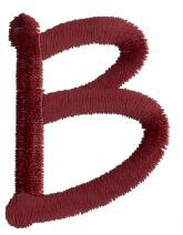 Dot B embroidery design