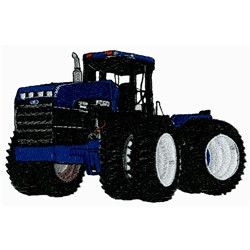 4WD Tractor embroidery design