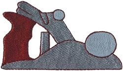 Carpenters Plane embroidery design