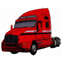 Truck embroidery design