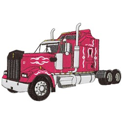 Kenworth Tractor embroidery design