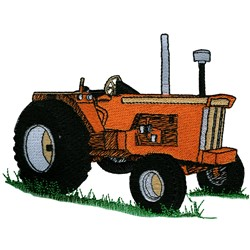 Classic Tractor embroidery design
