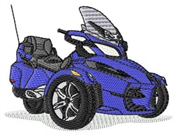 Spyder Touring embroidery design