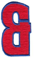 Fill Er Up Ampersand embroidery design