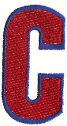 Fill Er Up C embroidery design