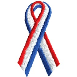 USA Ribbon embroidery design