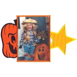 Halloween Frame embroidery design
