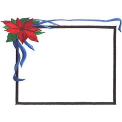 Christmas Frame embroidery design