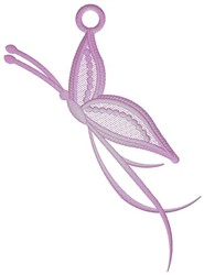 Butterfly Ornament embroidery design