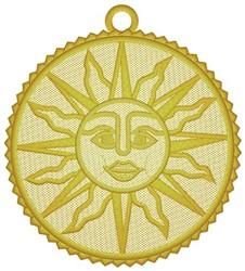 Sun Ornament embroidery design