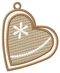 Heart Ornament embroidery design