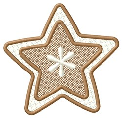 Bordered Star embroidery design