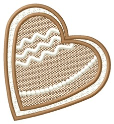 Framed Heart embroidery design