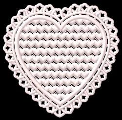 FSL Fancy Heart embroidery design