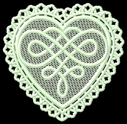 FSL Celtic Heart embroidery design