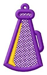 Megaphone Ornament embroidery design