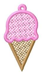 Ice Cream Ornament embroidery design