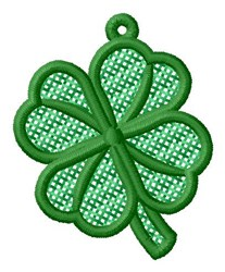 Clover Ornament embroidery design