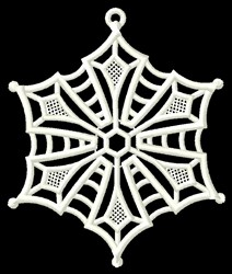 Holiday Snowflake embroidery design