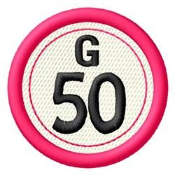 Bingo G50 embroidery design